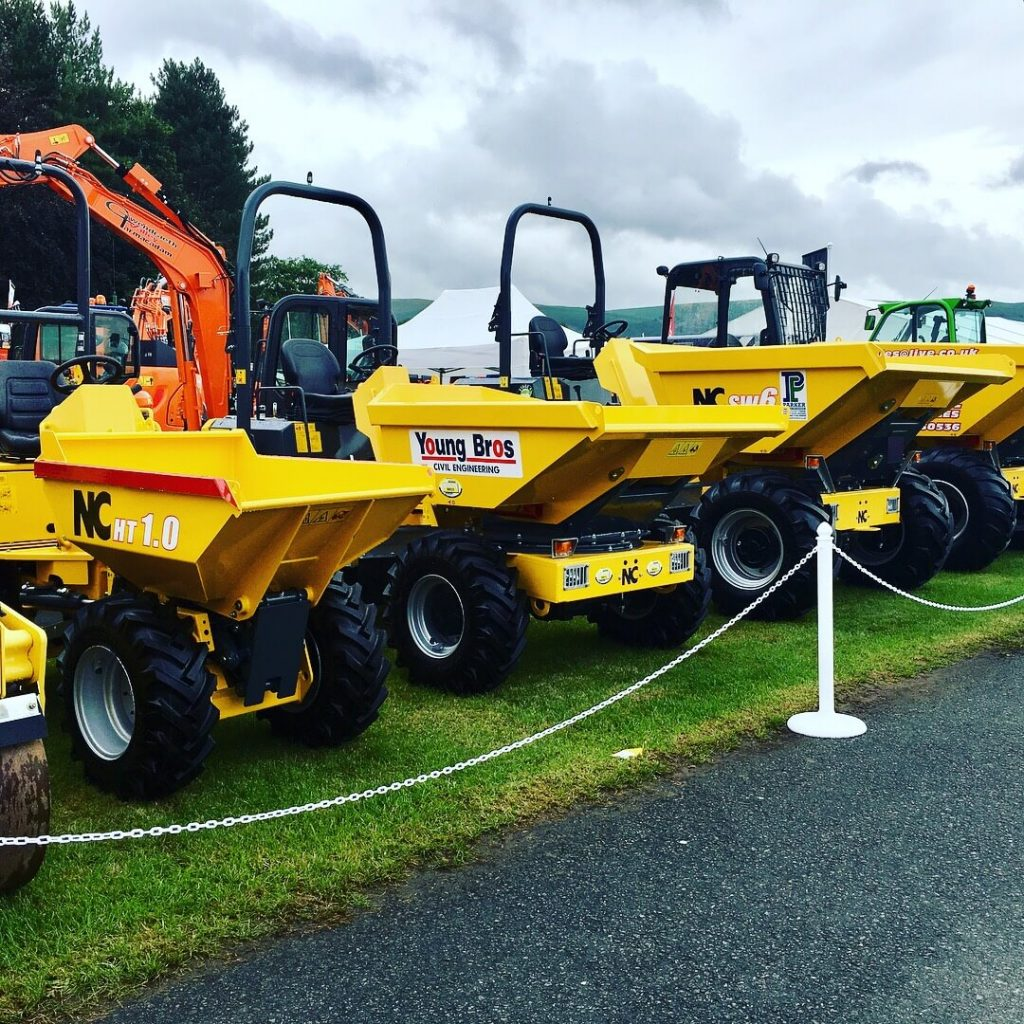 new site dumpers at mason bros
