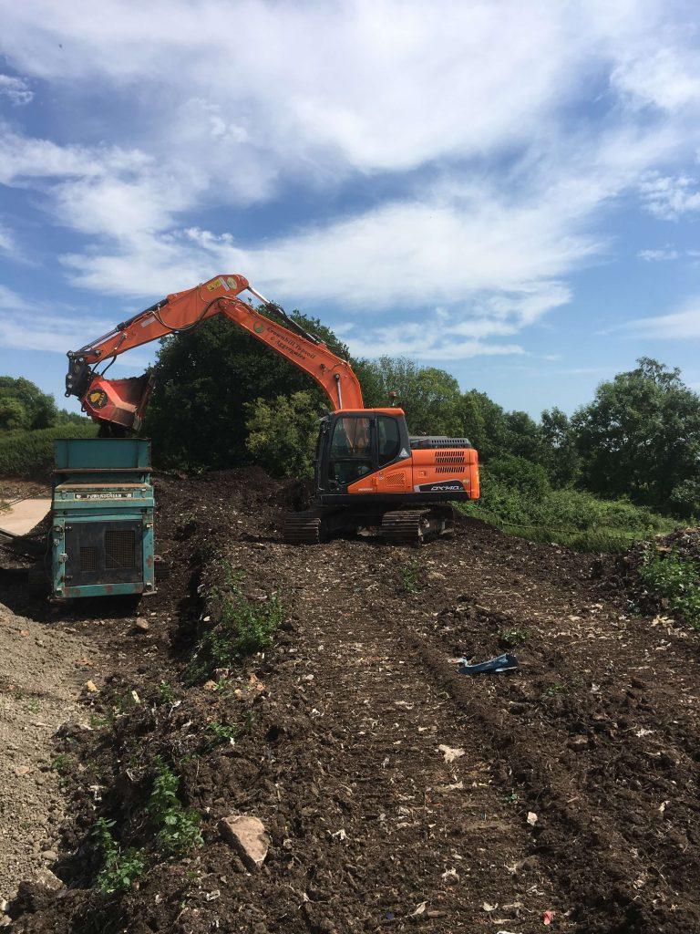 new doosan dx140 excavator from mason bros plant