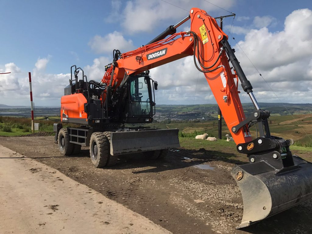 new doosan machine lands with new owner