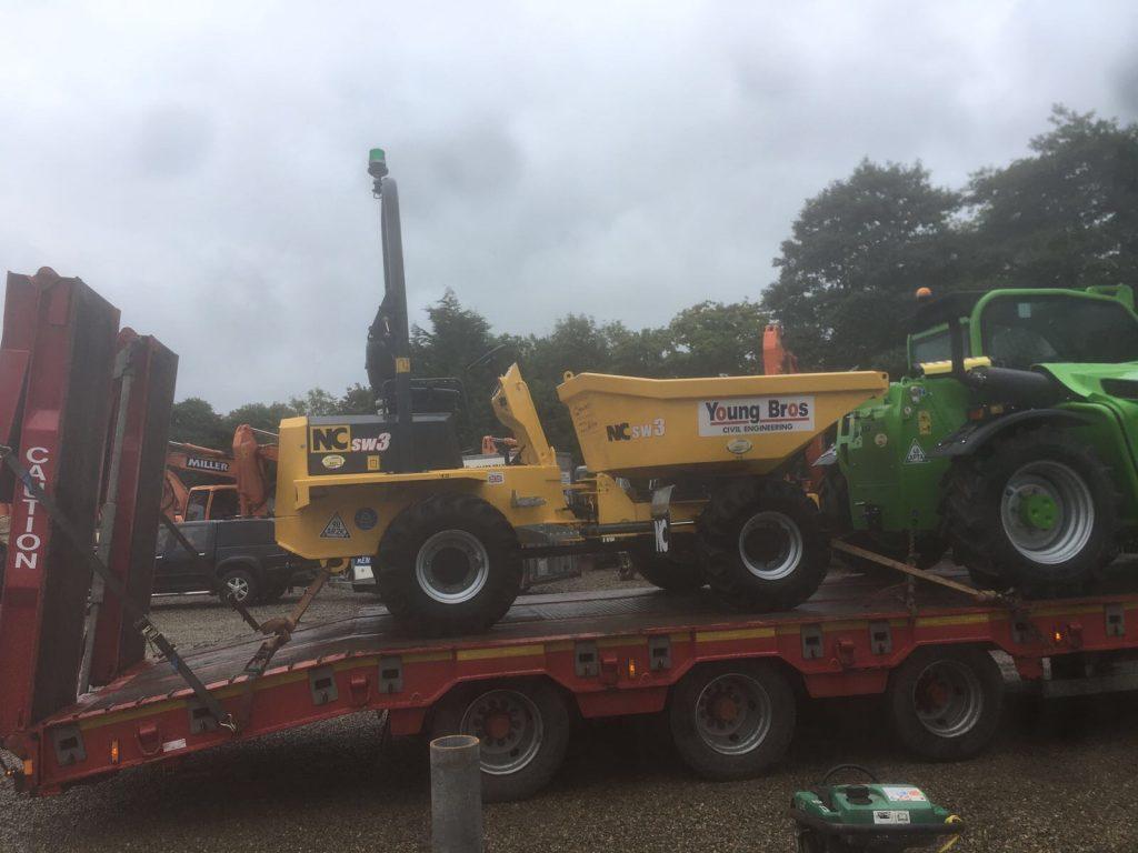 new nc engineering swivel skip 3 ton dumper