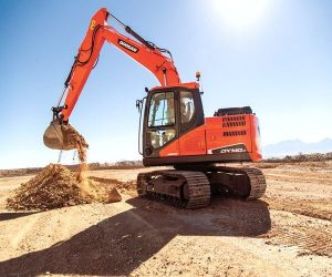doosan dx140 excavator