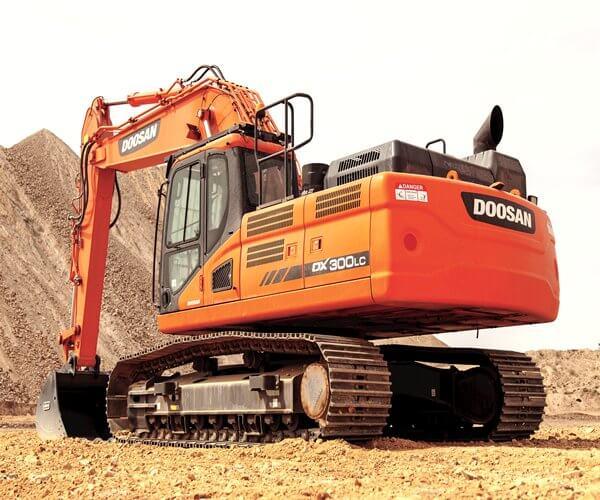 doosan Dx300 excavator