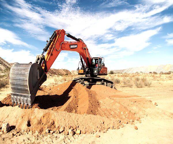 doosan dx530 excavator