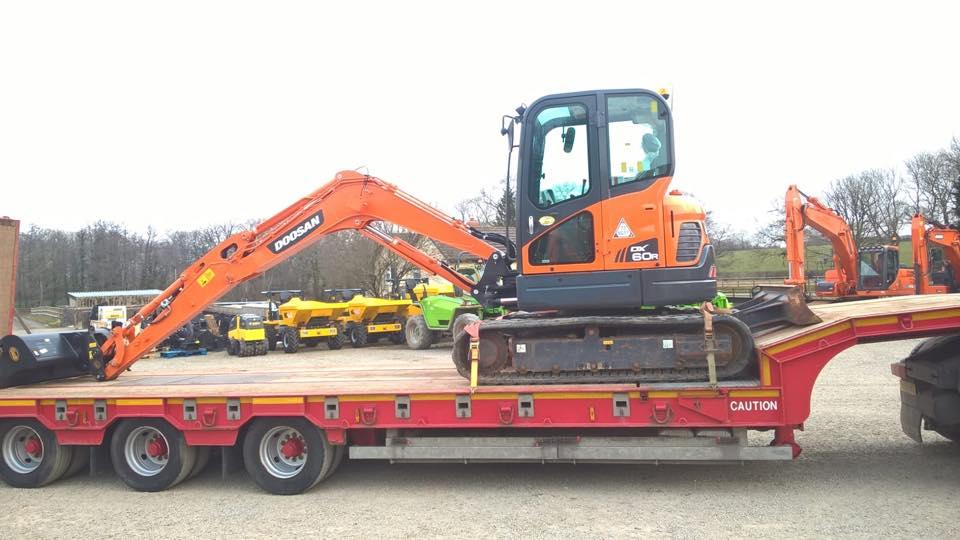 doosan dx60r excavator