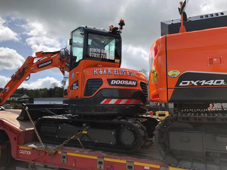 doosan dx62 excavator from mason bros