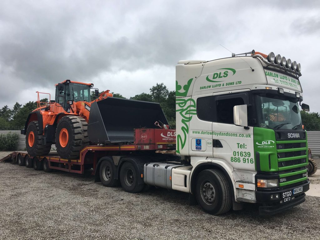 doosan 33 ton loading shovel