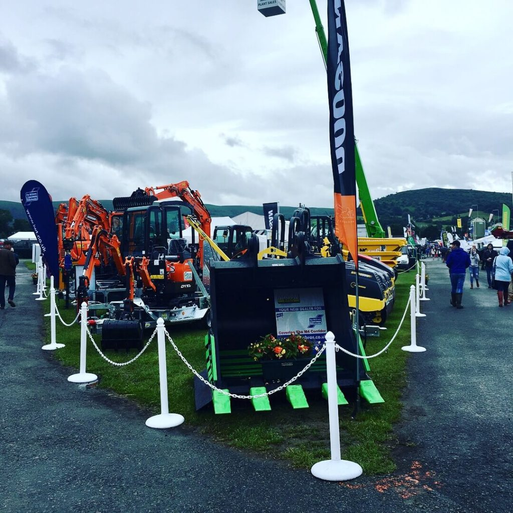 mason bros stand at royal welsh show 2017