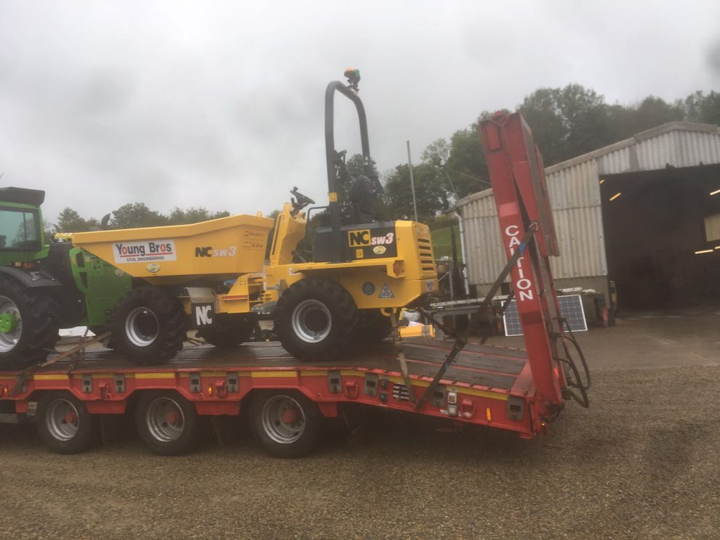 new 3 ton dumper for sale in wales