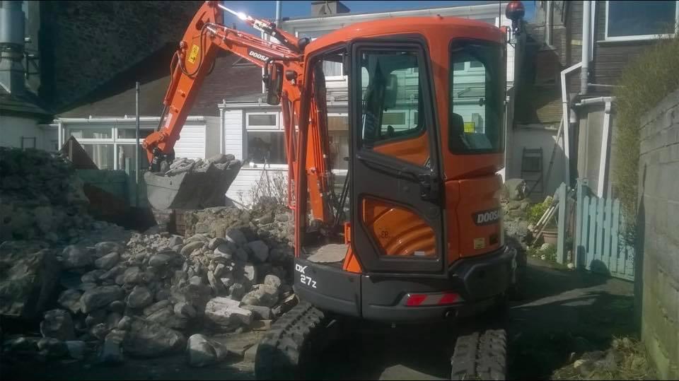 doosan dx27z mini excavator