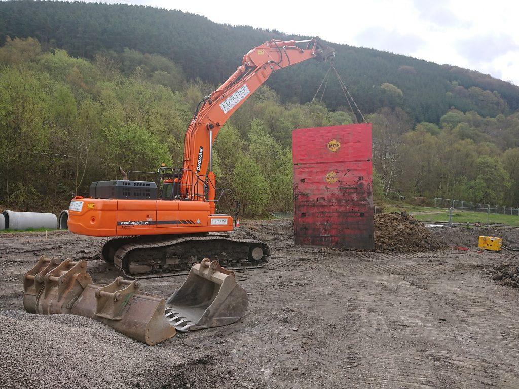 Doosan 42 ton excavator