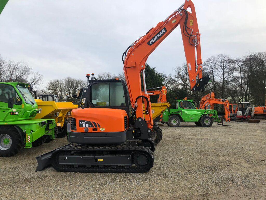 new doosan excavator
