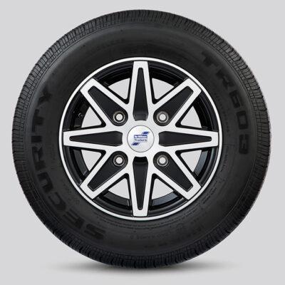 Alloy Wheel 8 Spoke Diamond Cut