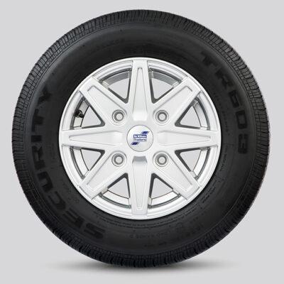 IWT Alloy Wheel 8 Spoke Silver